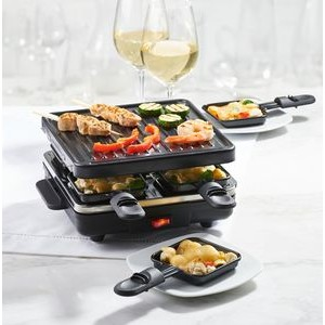 Festivo Stamp Grill for 4 from Trudeau