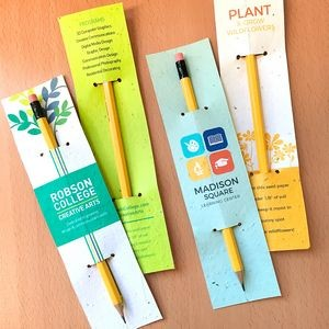Double-Sided Plantable Pencil Sleeves